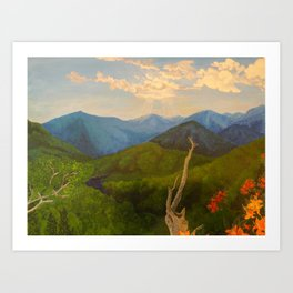 My Mountains Art Print