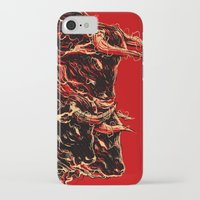 bull iPhone & iPod Cases featuring bull by barmalisiRTB