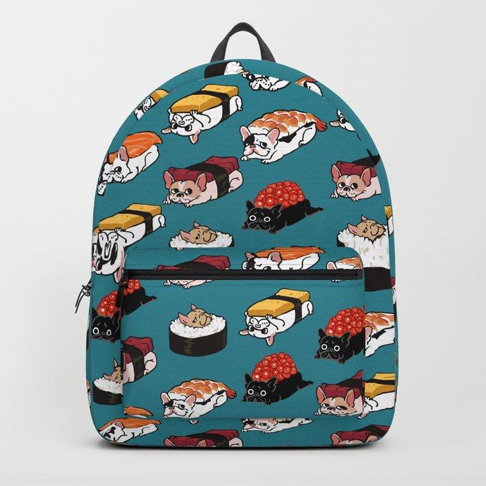 Sushi Frenchie Backpack