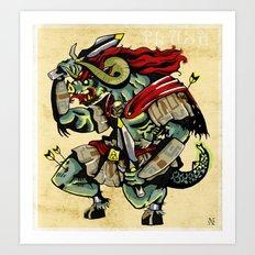 Ganon Art Print
