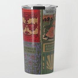 The Golden Age of Book Design Travel Mug
