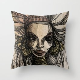 Immuable Throw Pillow