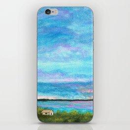 Good Morning, Beach House Sunrise iPhone Skin