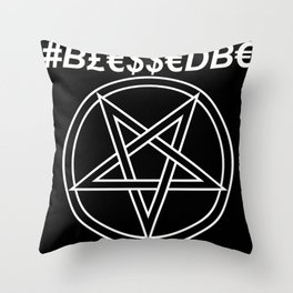 TRULY #BLESSEDBE INVERTED Throw Pillow