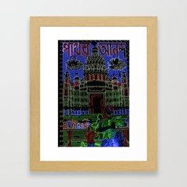Kolkata Lite Brite Framed Art Print