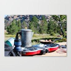 Breakfast Views Canvas Print