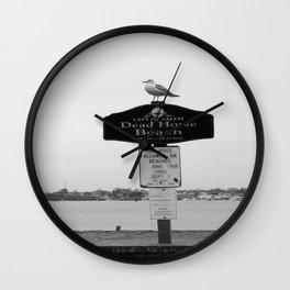 Dead Horse Beach Wall Clock