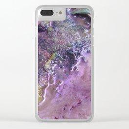 Galaxy Beach (Detail) Clear iPhone Case