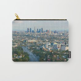 Los Angeles Skyline and Los Angeles Basin Panorama Carry-All Pouch