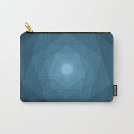 Blue Tunnel Carry-All Pouch