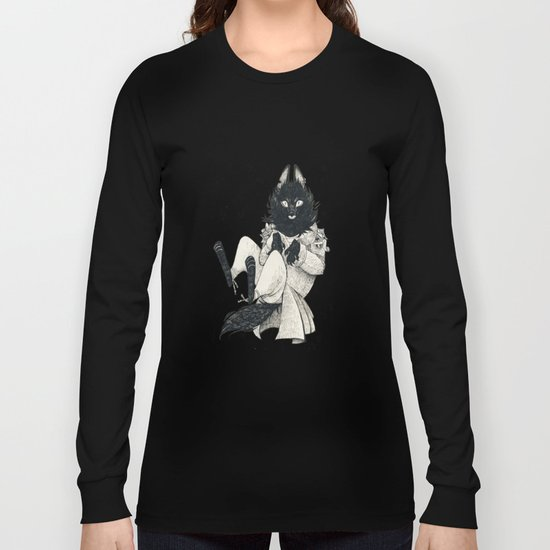 DOMESTIC WEREWOLF Long Sleeve T-shirt