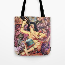 Dark Heart Beat Tote Bag