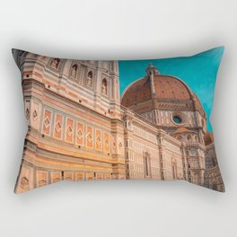 St Marie of Flowers Basilica Firenze Rectangular Pillow