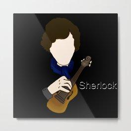 Sherlock Violin Metal Print
