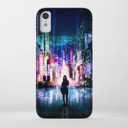 Tokyo Cyberpunk Japan iPhone Case