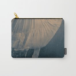 Swirling by the Sea Carry-All Pouch