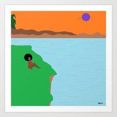 West Indie Art Print