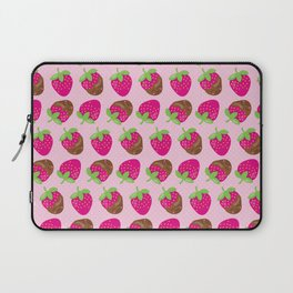 Neck Gaiter Kawaii Chocolate Covered Strawberries Neck Gator Laptop Sleeve