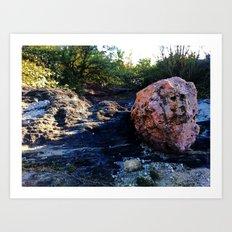 hidden spot @ Barceloneta , Puerto Rico 2 Art Print