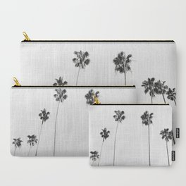 Black & White Palms Carry-All Pouch