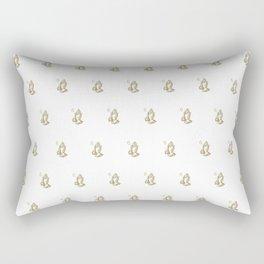 6 God - White Rectangular Pillow