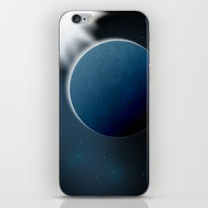Cold planet iPhone & iPod Skin