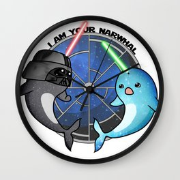 I am your narwhal Wall Clock