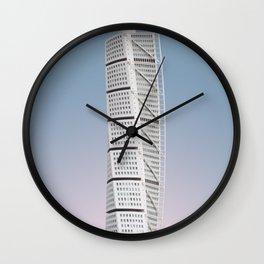 Turning Torso | Santiago Calatrava | #architecture #calatrava Wall Clock