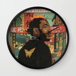 KUNG FU---KENNY V Wall Clock