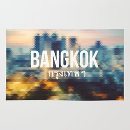 Bangkok - Cityscape Rug