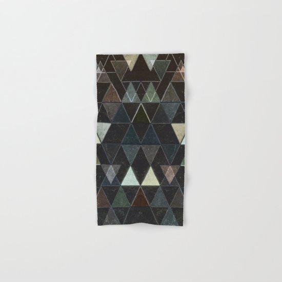 Triangles XXX Hand & Bath Towel