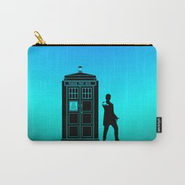 Tardis With The Twelfth Doctor Carry-All Pouch