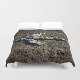 Stone arrow Duvet Cover
