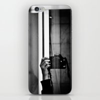 photographer iPhone & iPod Skins featuring Photographer by Estrella Díaz Photovisual