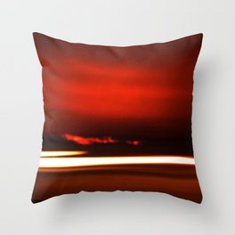 Overreal  - Now is the Time.  Album Cover Throw Pillow