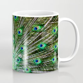 The peacock of Hellabrunn Coffee Mug