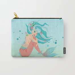 Monster Mermaid Pin-Up Carry-All Pouch