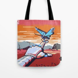 Artificial Friend - Butterfly Hologram on Mars Tote Bag