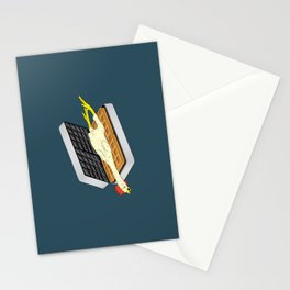 Rubber Chicken & Waffles Stationery Cards