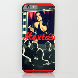 """Mextasy: """"LAURA MULVEY NOT INVITED"""" iPhone Case"""
