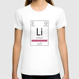 Lithium - chemical element T-shirt