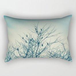 Unexpected Company Rectangular Pillow