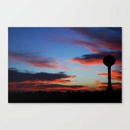 Water Tower Canvas Print