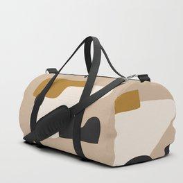 abstract minimal 16 Duffle Bag