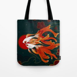 Two comets Tote Bag