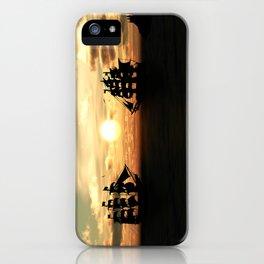 Seefahrt Begegnungen iPhone Case
