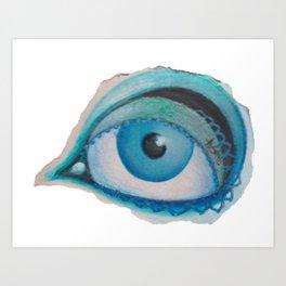 all just eyes IIIc Art Print