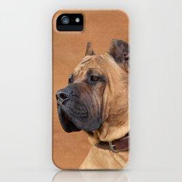 Perro de Presa Canario iPhone Case