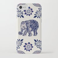 funky iPhone & iPod Cases featuring Elephant Pink by rskinner1122