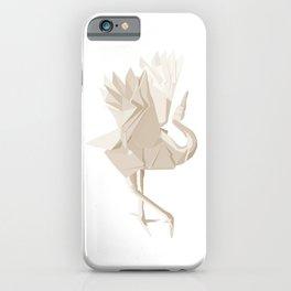 Origami Crane iPhone Case